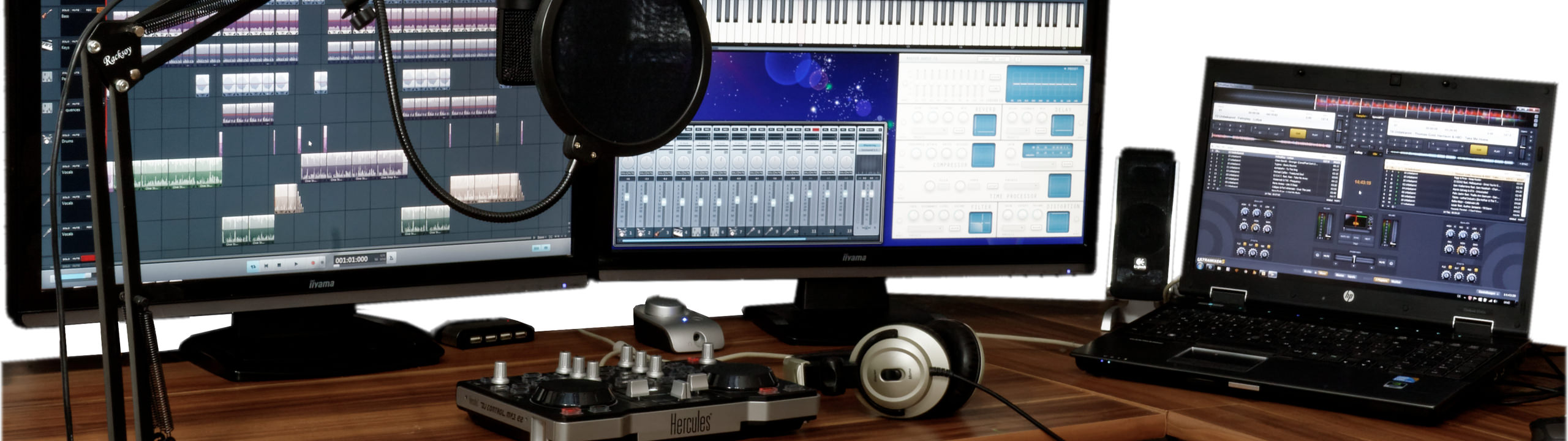 Home Recording Studio 2560 By 720