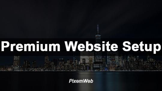 Premium WordPress Website Service