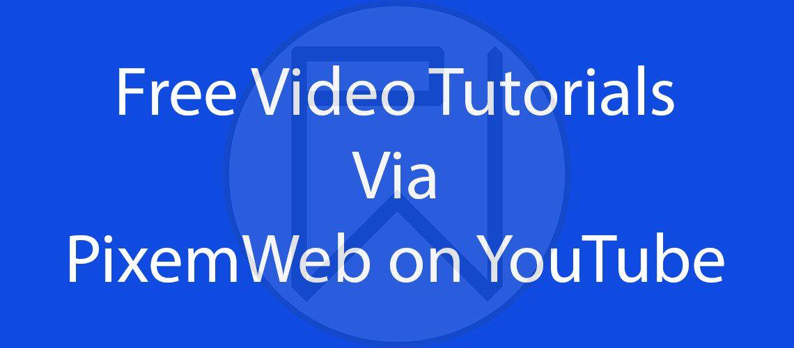 PixemWeb on YouTube