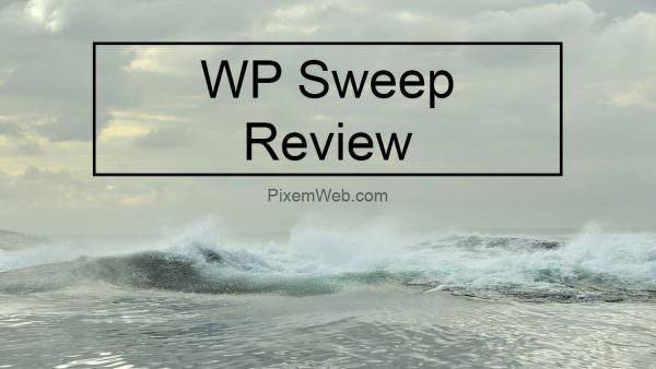 WP Sweep Review