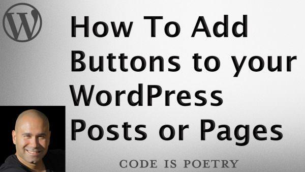 WordPress Buttons Plugin