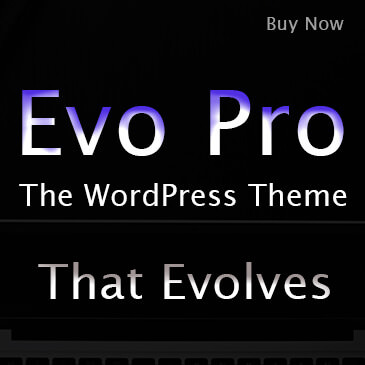 Evo Pro is the WordPress Theme that Evolves