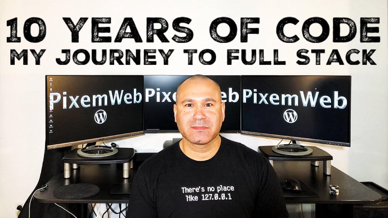 10 Years Of Coding – My Journey To Freelance Full Stack Web Developer