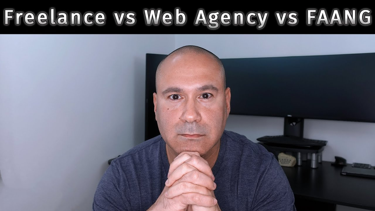 Work From Home As A Freelance Web Developer, Work For A Web Design Agency Or Faang